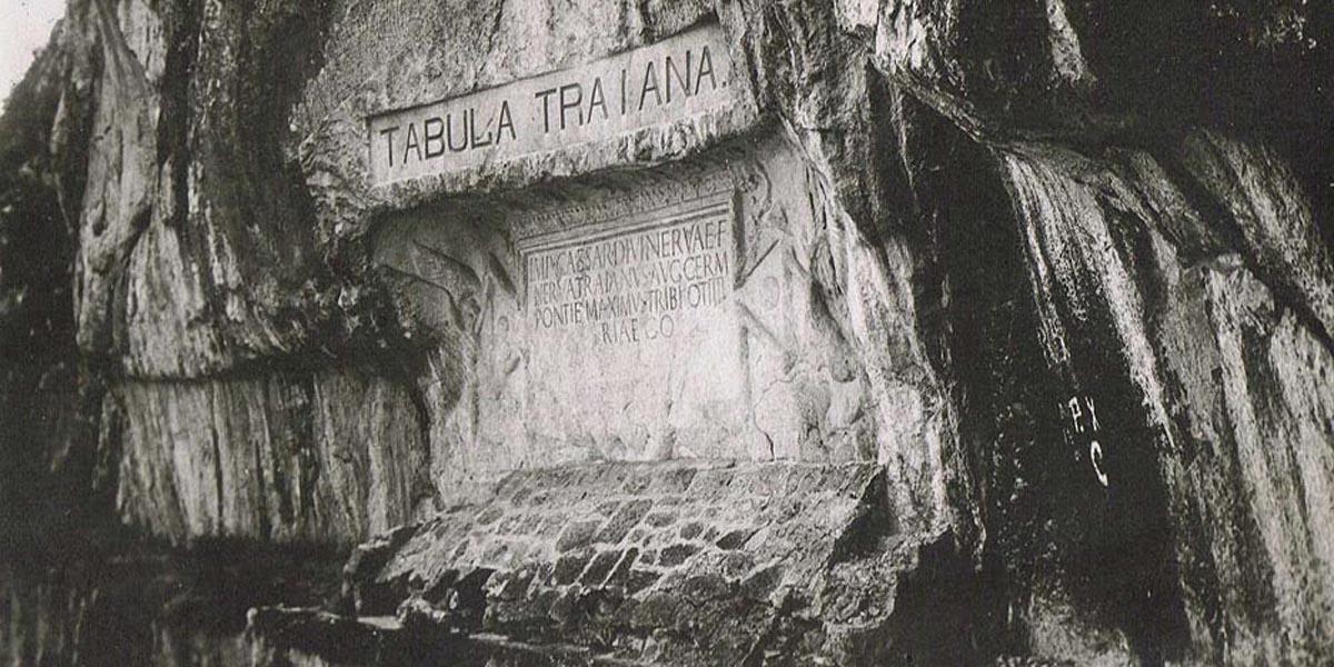 Trajanova Tabla orginalna lokacija