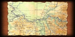 Branicevo mapa